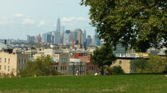 View from the hill in Sunset Park
