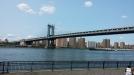 View of the Manhattan Bridge from Brooklyn Bridge Park, Dumbo